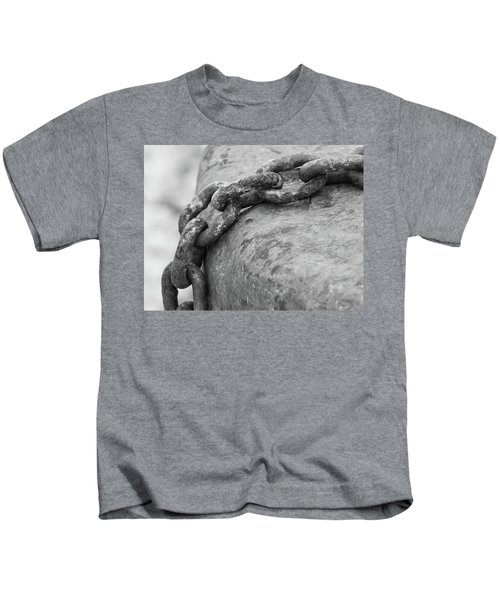 Shades Of Gray Kids T-Shirt