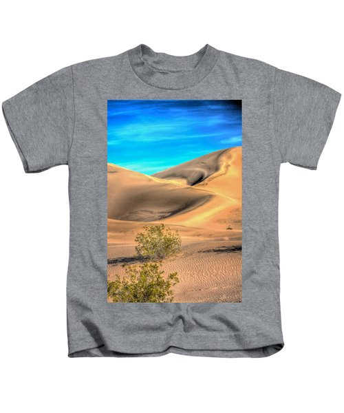 Shadows In The Sand Kids T-Shirt