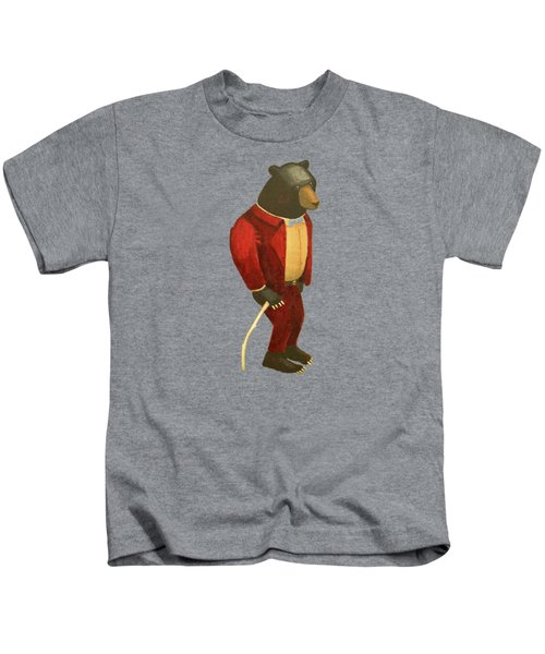 Sharp Dressed Bear Kids T-Shirt