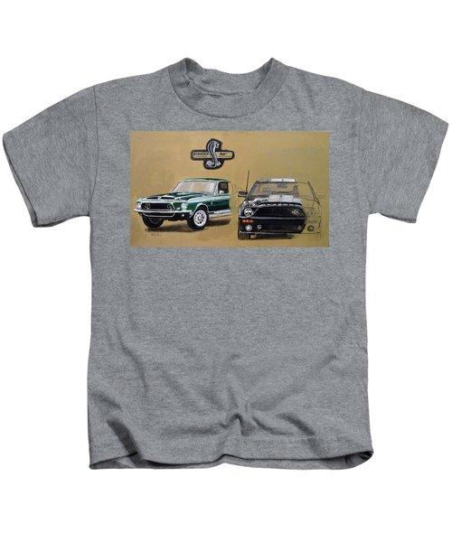 Shelby 40th Anniversary Kids T-Shirt