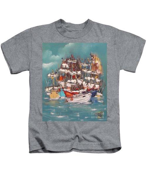 Ship Harbor Kids T-Shirt