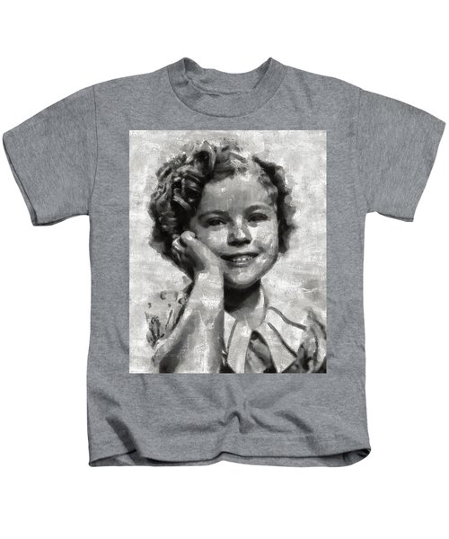 Shirley Temple By Mary Bassett Kids T-Shirt