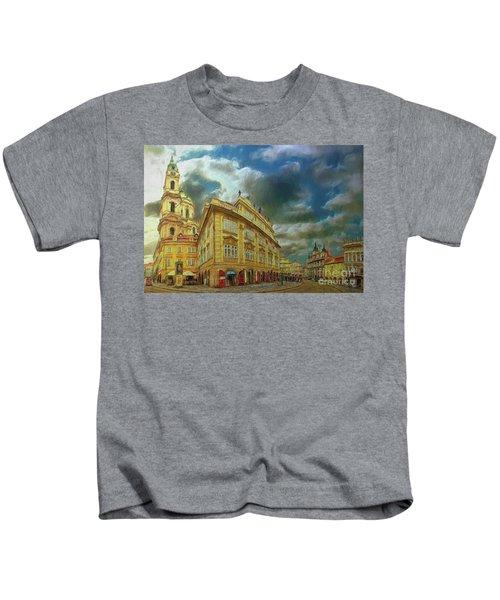 Shooting Round The Corner - Prague Kids T-Shirt