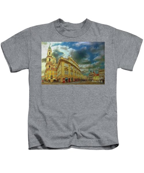 Shooting Round The Corner - Prague Kids T-Shirt