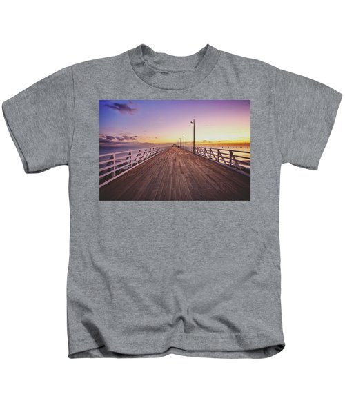 Shorncliffe Pier At First Light  Kids T-Shirt