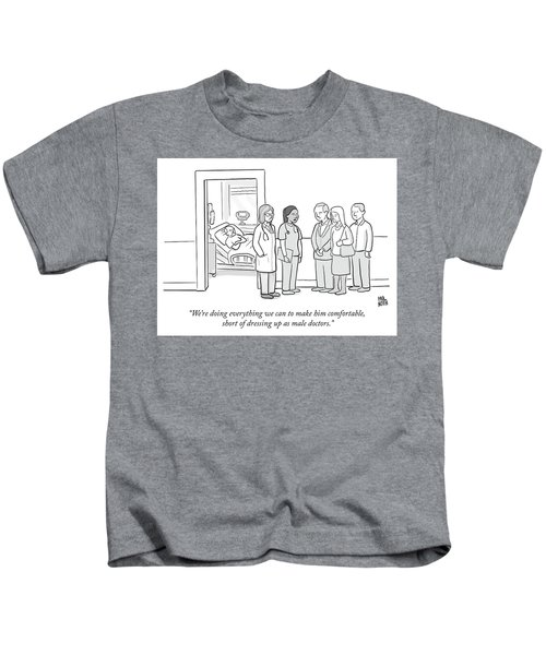 Short Of Dressing Up As Male Doctors Kids T-Shirt
