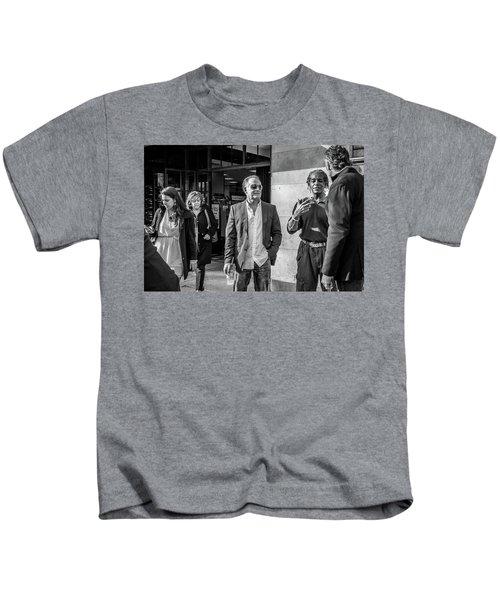 Sidewalk Circulation Kids T-Shirt