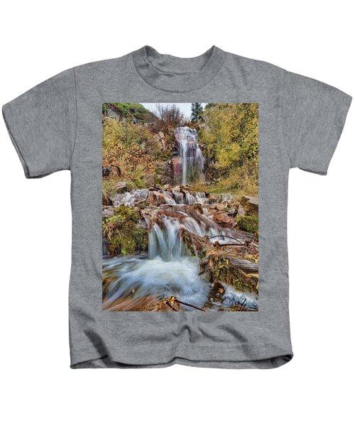 Sierra Waterfall Kids T-Shirt