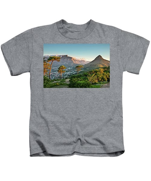 Signal Hill In Cape Town Kids T-Shirt