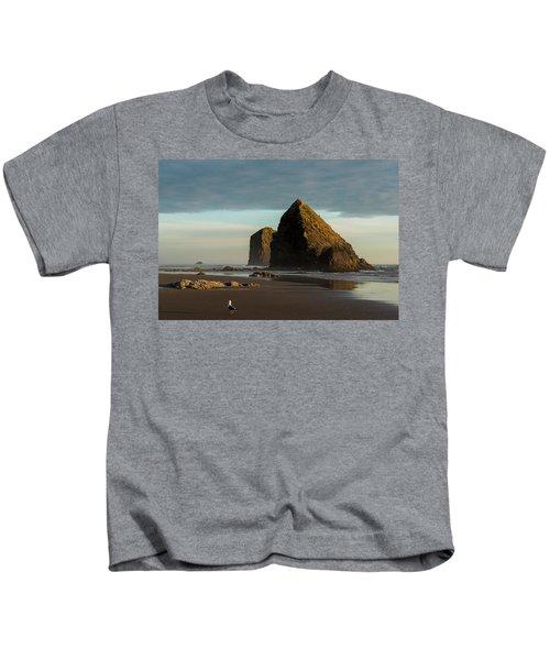 Silver Point Seastacks Kids T-Shirt