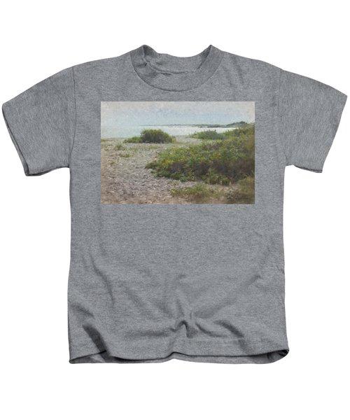 Silver Shoreline Westport Ma Kids T-Shirt