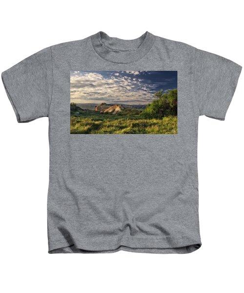 Simi Valley Overlook Kids T-Shirt