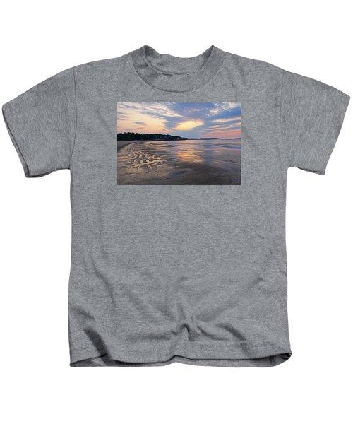 Singing Beach Sandy Beach Manchester By The Sea Ma Sunrise Kids T-Shirt