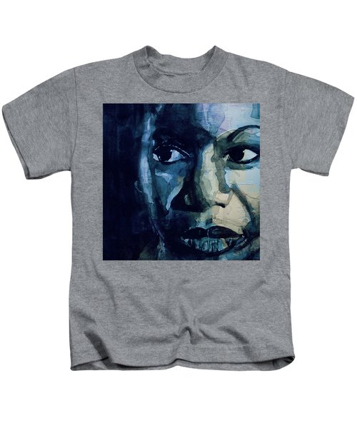 Sinnerman - Nina Simone Kids T-Shirt