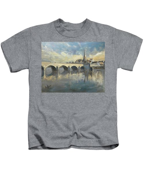 Sint Servaas Bridge Maastricht Kids T-Shirt