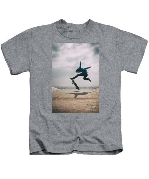 Skater Boy 003 Kids T-Shirt