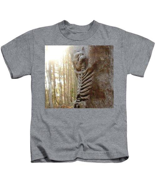 Skeleton Tree Kids T-Shirt