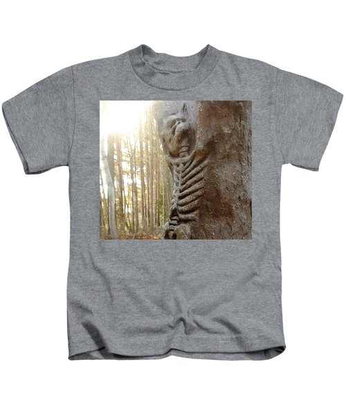 Skeleton Tree Kids T-Shirt