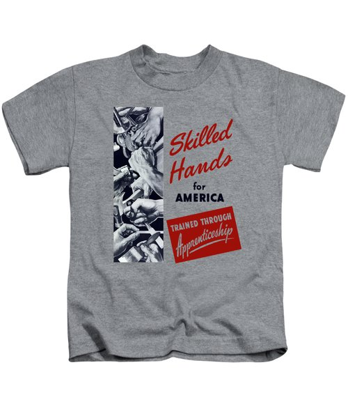 Skilled Hands For America Kids T-Shirt
