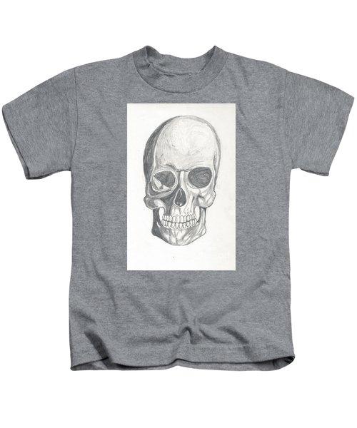 Skull Study 2 Kids T-Shirt
