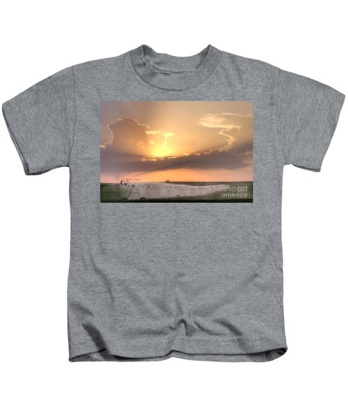 Sky And Water Kids T-Shirt