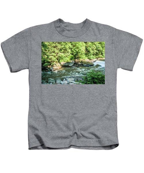 Slippery Rock Gorge - 1898 Kids T-Shirt