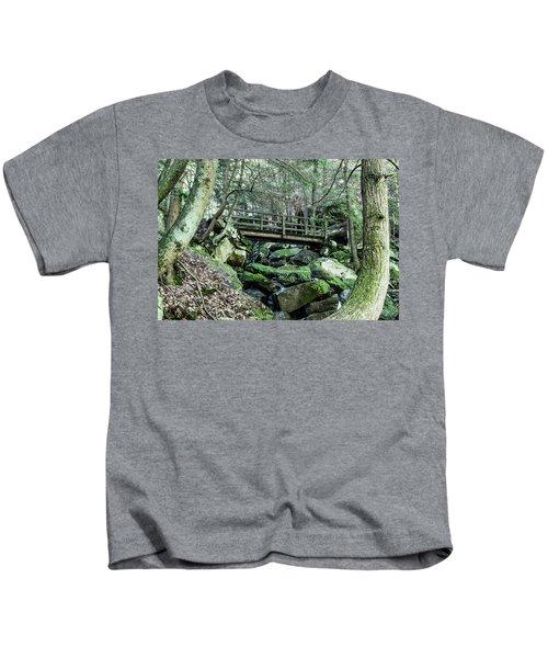 Slippery Rock Gorge - 1927 Kids T-Shirt