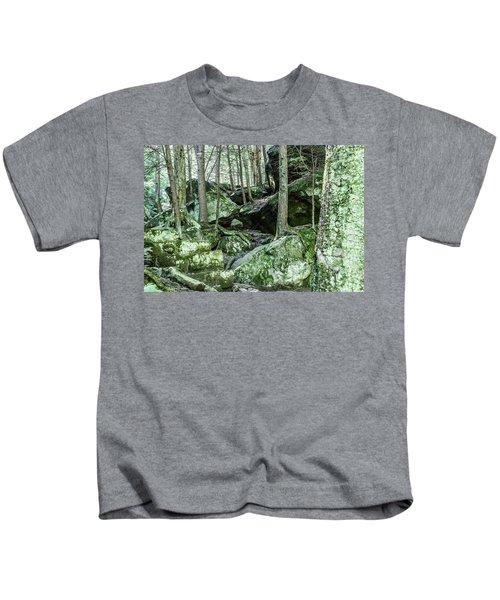 Slippery Rock Gorge - 1933 Kids T-Shirt