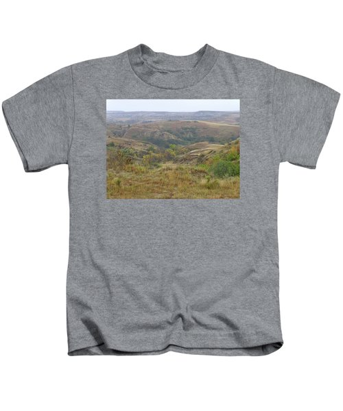 Slope County In The Rain Kids T-Shirt