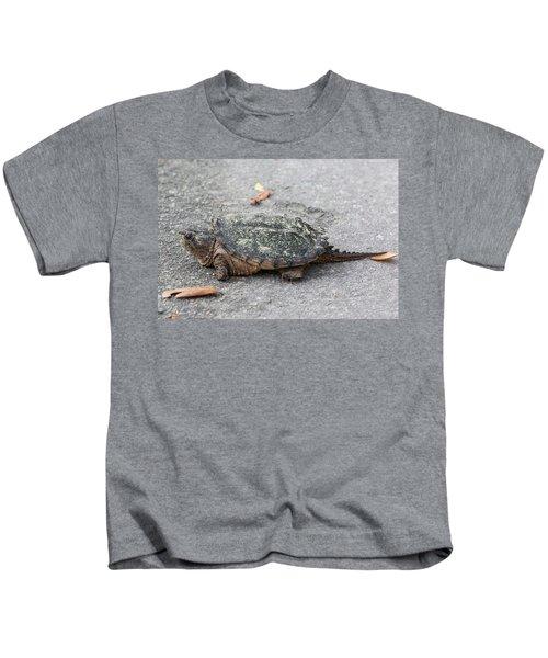 Slow Crossing 3 March 2018 Kids T-Shirt