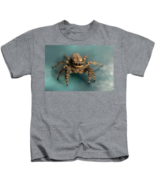 Small Jumping Spider Kids T-Shirt