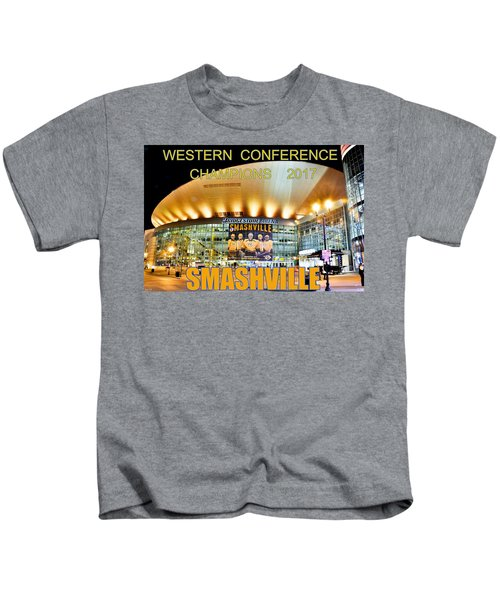 Smashville Western Conference Champions 2017 Kids T-Shirt