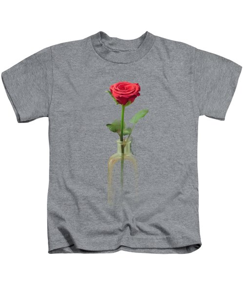 Smell The Rose Kids T-Shirt