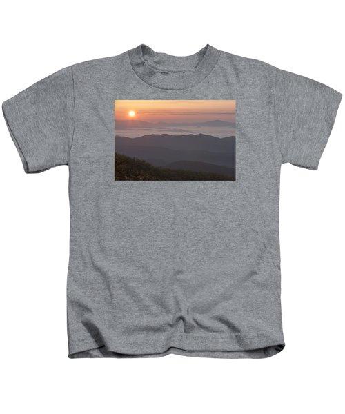 Smokey Sunset Kids T-Shirt