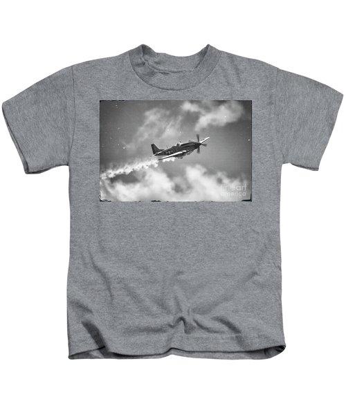 Smokin 51 Bw Kids T-Shirt