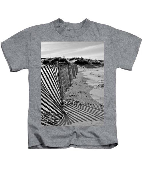 Snow Fence Kids T-Shirt
