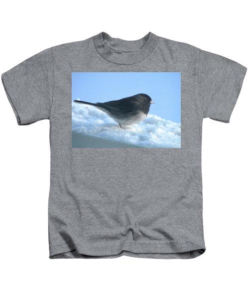Snow Hopping #1 Kids T-Shirt