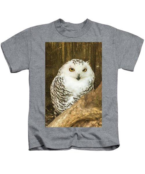 Snow Owl Kids T-Shirt