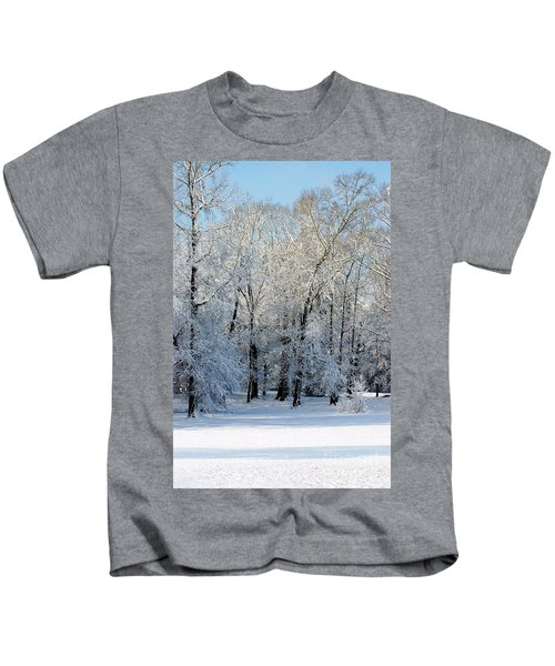Snow Scene One Kids T-Shirt