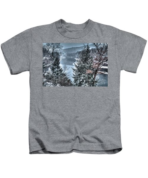 Snow Squall Kids T-Shirt