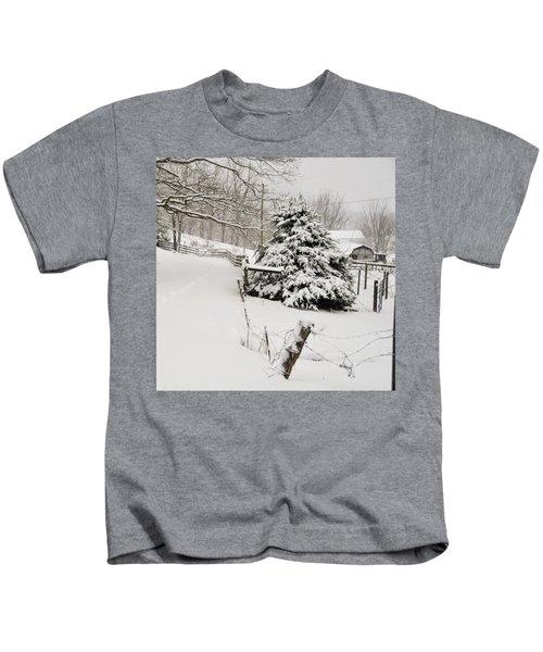 Snow Tree Kids T-Shirt