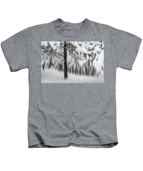 Snowy-2 Kids T-Shirt
