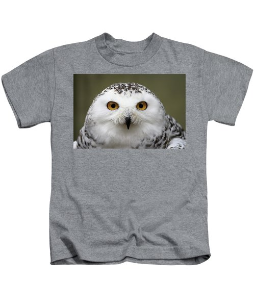 Snowy Eyes Kids T-Shirt