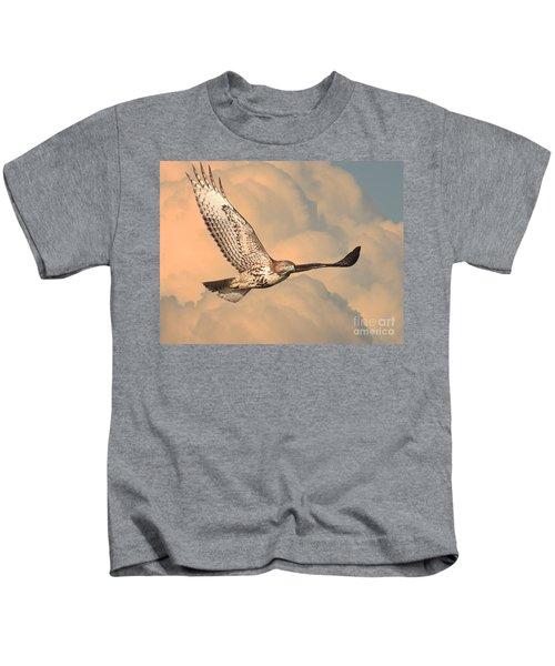 Soaring Hawk Kids T-Shirt