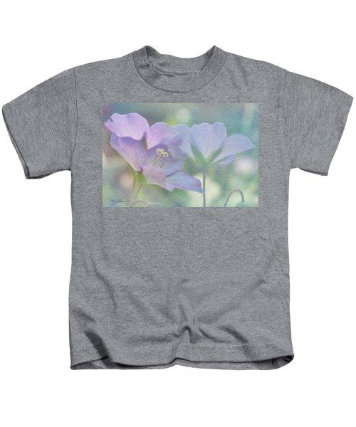 Soft Blue Kids T-Shirt
