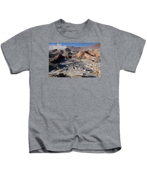 Sol De Manana Geothermal Field  Kids T-Shirt