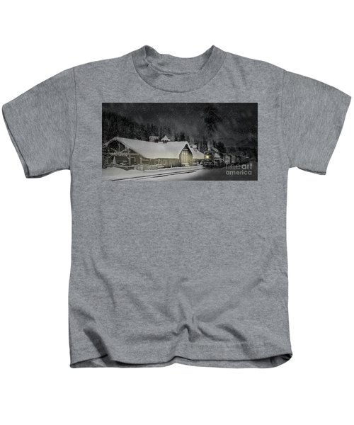 Solace From The Storm Kids T-Shirt