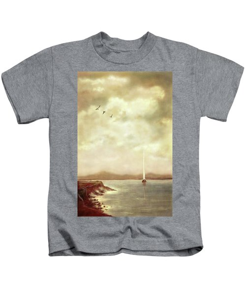 Solitary Sailor Kids T-Shirt