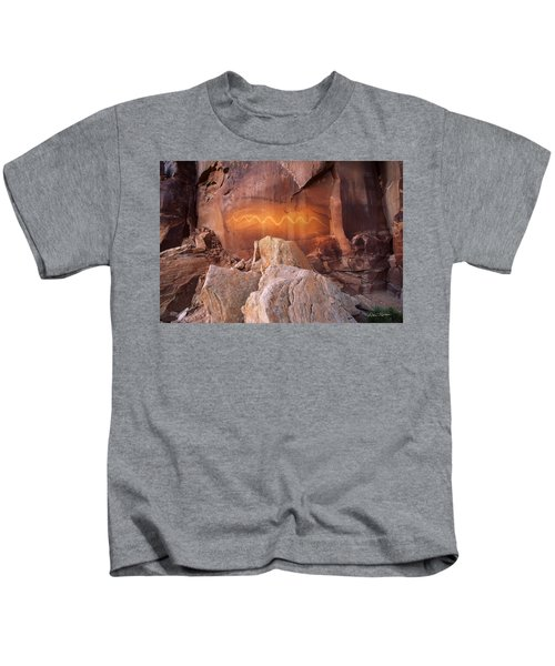 Solstice Snake Kids T-Shirt