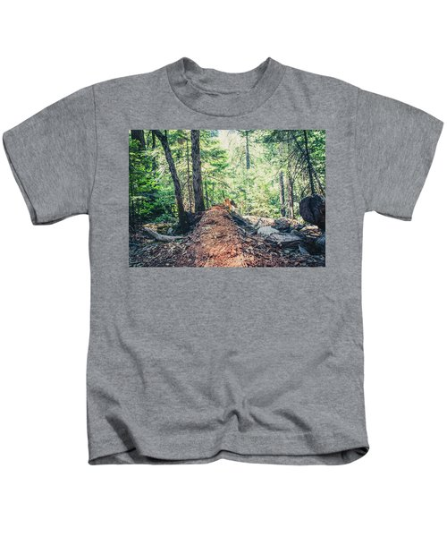 Somber Walk- Kids T-Shirt